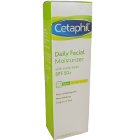Cetaphil Daily Facial Moisturizer for All Skin Types, with Sunscreen SPF 50 1.7 oz [302993930020]