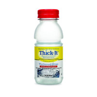 ThickIt Thickened Water AquaCareH2O Bottle Unflavored Ready to Use Honey Consistency, 8 oz [892125002515]