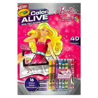 Crayola Color Alive, Barbie 1 ea [071662110482]