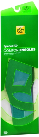 Spenco RX Comfort Insoles #1 1 Pair [038472369011]