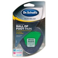 Dr. Scholl's Pain Relief Orthotics for Ball of Foot Pain 1 ea [011017569947]