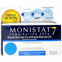 MONISTAT 7 Triple Action System, Combination Pack, 7-day Treatment 1 ea [363736449605]