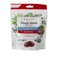 Quantum Health Organic Cough Relief Lozenges, Bing Cherry Flavor, 18 ea [046985211901]