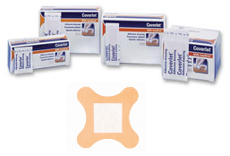 Coverlet Latex Free Adhesive Dressing Strips 4-Wing 50 ea [035664003852]