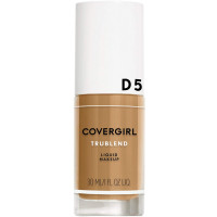 CoverGirl truBlend Liquid Foundation Makeup, [D5] Tawny  1 oz [008100009695]