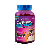 21st Century Zoo Friends Multi Gummies, 60 ea [740985276198]