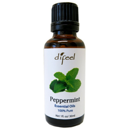 Difeel Essential Oils, Pure Peppermint 1 oz [711716361117]