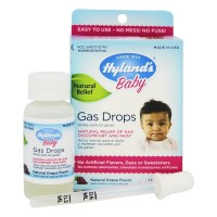 Hyland's Baby Gas Drops, Natural Grape Flavor 1 oz [354973317413]