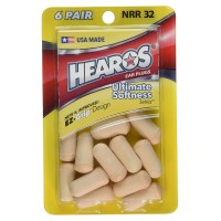 Hearos Ultimate Softness Series Ear Plugs 12 ea [756063054145]