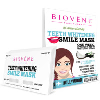 Biovène Teeth Whitening Smile Mask 14 ea [8436575090948]