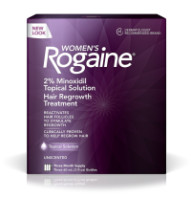 Rogaine Women's 3 Month Supply, Unscented 6 oz 3 ea [312547780605]