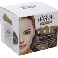 Body Drench Face Mask Purify Moroccan Ghassoul 4 oz [653619101691]