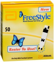 FreeStyle Blood Glucose Test Strips 50 Each [699073120502]