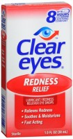 Clear Eyes Redness Relief Drops 1 oz [678112254194]