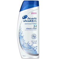 Head & Shoulders 2 In 1 Classic Clean Dandruff Shampoo + Conditioner 23.70 oz [037000011989]