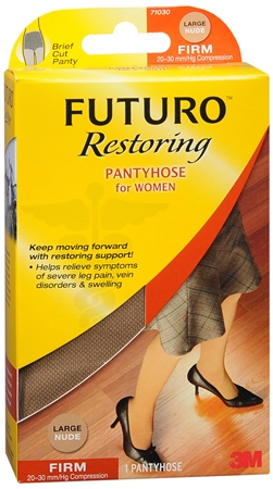 FUTURO Restoring Pantyhose Brief Cut Panty Firm Large Nude 1 Pair [382250062855]