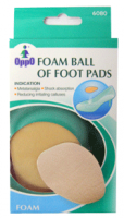 Oppo Foam Ball of Foot Pads [6080] 1 Pair [4711769149454]