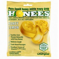 Honees Cough Drops, Honey Lemon 20 ea [070650004048]