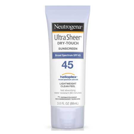 Neutrogena Ultra Sheer Dry-Touch Sunscreen SPF 45 3 oz [086800687955]