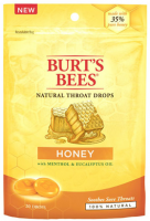 Burt's Bees Natural Throat Drops, Honey 20 ea [792850014411]