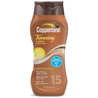 Coppertone Tanning Lotion SPF 15 8 oz [041100704474]