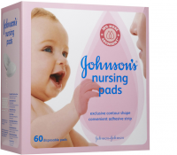JOHNSON'S Nursing Pads 60 Each [381370017752]