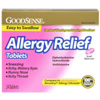Good Sense Allergy Relief Tablets 25mg 24 ea [070030131333]