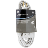 GE 15 Feet Indoor Extension Cord 1 ea [043180002440]