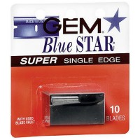 Gem Blue Star Super Single Edge Blades 10 ea [024500080126]