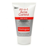 Neutrogena All-in-1 Acne Control Daily Scrub 4.20 oz [070501022047]