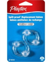 Playtex Replacement Valves 2 Each [078300054245]