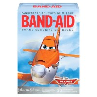 BAND-AID Adhesive Bandages Assorted Sizes, Disney's Planes 20 ea [381371159833]