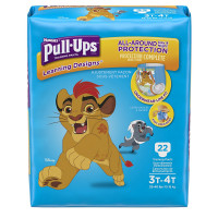 HUGGIES Pull Ups Learning Designs Training Pants for Boys, 3T-4T 22 ea [036000451412]