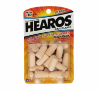 Hearos Ear Plugs, Ultimate Softness Series 20 pairs [756063025251]