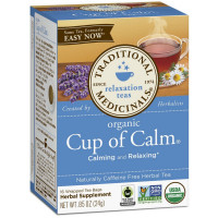 Traditional Medicinals Organic Herbal Tea, Cup of Calm 16 ea [032917000170]