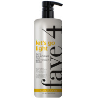 fave4 Lets Go Light - Fave Conditioner for Lightweight Shine 25.36 oz [857324004265]