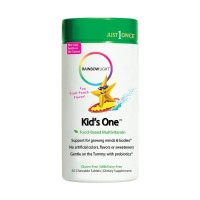 Rainbow Light Kids One Chewable Multivitamin Tablets, Fruit Punch, 50 ea  [021888302314]