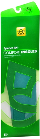Spenco RX Comfort Insoles #5 1 Pair [038472369059]