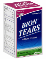 Bion Tears Lubricant Eye Drops Single Use Vials 28 ea [300650419284]
