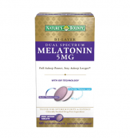 Nature's Bounty Melatonin 5 mg Bi-Layer Tablets 60 ea [074312530982]