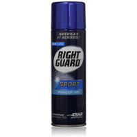 Right Guard Aerosol Sport Powder Dry Antiperspirant, 6 oz [017000068268]