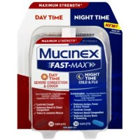 Mucinex Fast-Max Adult Day and Night Severe Congestion & Cough / Cold & Flu, 30 ct [363824555300]
