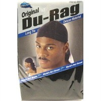 Dream Original Long Tie Du-Rag, Black 1 ea [843632020714]