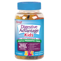 Digestive Advantage KIDS Prebiotic Fiber Plus Probiotic Gummies 65 ea [020525991300]