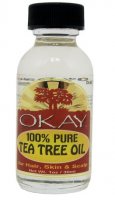 Okay 100% Pure Tea Tree Oil, 1 oz [810367015513]