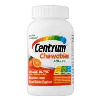 Centrum Chewables Multivitamin/Multimineral Tablets, Orange Burst 100 ea [300054528353]