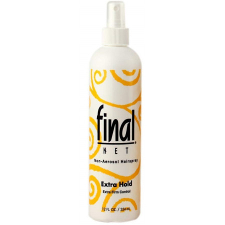 Final Net Hairspray Non-Aerosol Extra Hold Unscented 12 oz [827755020431]