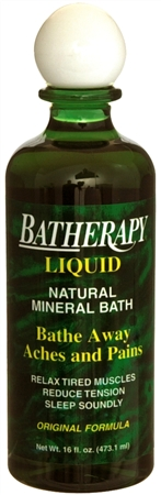 BATHERAPY Natural Mineral Bath Liquid 16 oz [079896220120]