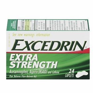 Excedrin Pain Relief Caplets, Extra Strength 24 ea [300672000248]