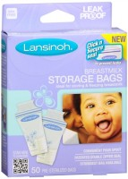 Lansinoh Breastmilk Storage Bags 50 Each [044677204507]